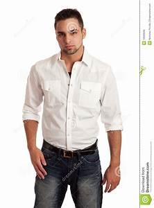 Man In White Shirt   Is Shirt