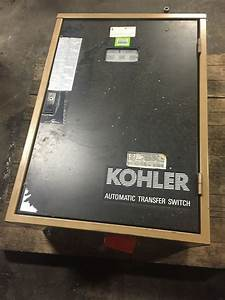 Kohler 70a Automatic Transfer Switch 22 5 Rz R-series  300 Series
