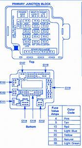 Jeep Wrangler 1992 Fuse Box  Block Circuit Breaker Diagram