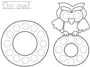 Kindergarten Halloween Door Decorations by Do A Dot Letter O Printable 171 Funnycrafts
