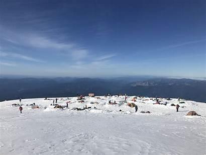 Avalanche Gulch Shasta Memorial Weekend Mt Climbing