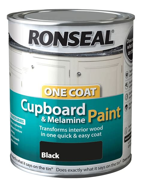 Ronseal Cupboard Paint by Ronseal One Coat Cupboard Melamine Mdf Paint 750ml 6