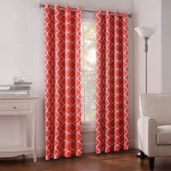 coral colored curtains drapes coral color curtains