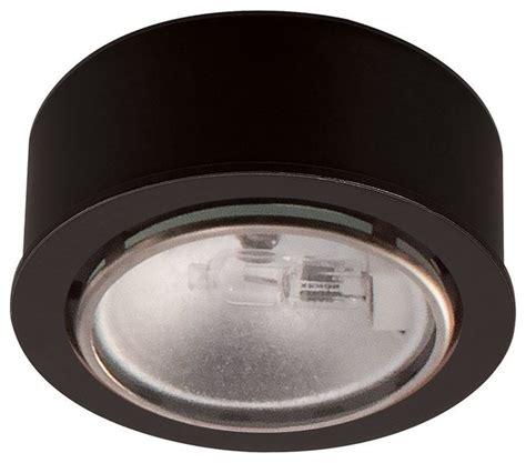 halogen low voltage button puck light contemporary