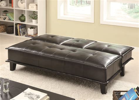 Coaster Sofa Beds And Futons 300138 Contemporary Black