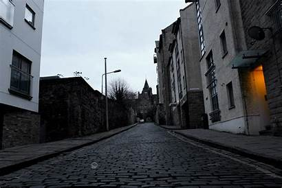 Alleyway Trash Scotland Clouds Edinburgh Bulb Overcast