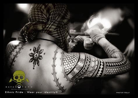 pin  kayaw tatu kalinga hand tapped tattoo