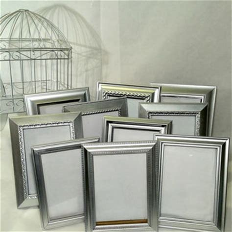 picture frames for wedding tables 10 silver table number wedding frames from acottageaffair