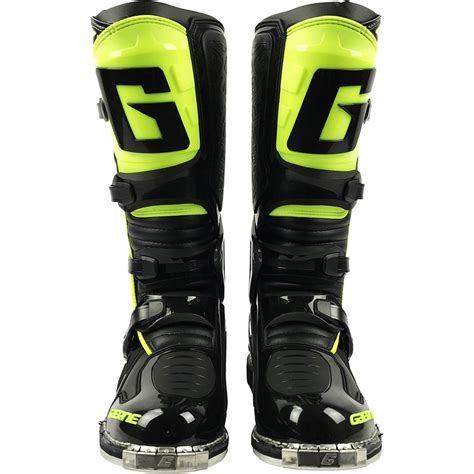 hinged motocross boots gaerne new mx 2017 sg 10 black flo yellow enduro euro dirt