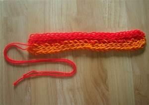 Finger Knitting Instructions For Kids  U0026 Adults