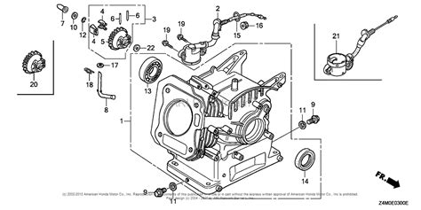 Honda Engines Gxut Qww Engine Tha Vin Gcaft