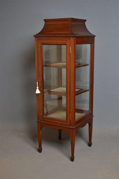 Edwardian Display Cabinet Vitrine  Antiques Atlas