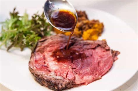 recipe for prime rib perfect prime rib roast with red wine jus recipe dishmaps