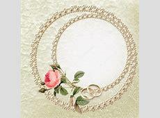 Fondo bodas de perla Fondo de la boda con una rosa