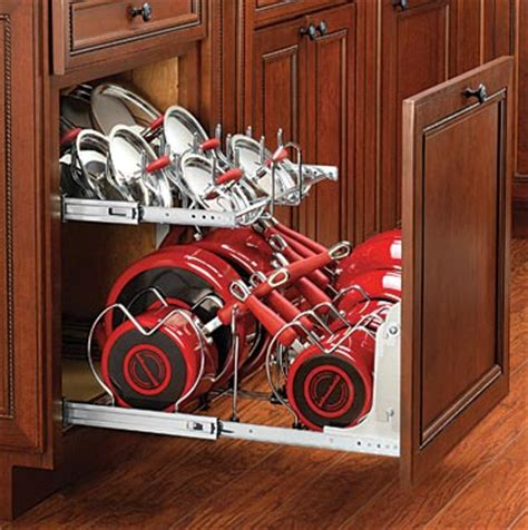 kitchen cabinet pan organizer kitchen accesories 5647