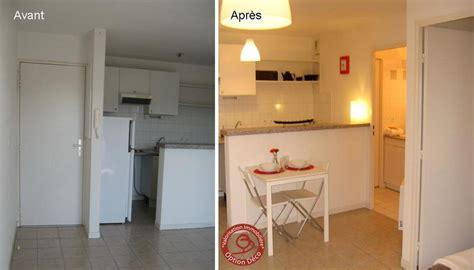 deco m6 cuisine avant apres logement vide cuisine avant après photo de home staging