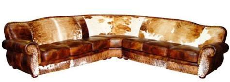 How To Clean Cowhide Leather by Cowhide Sectionals Leather Sectionals Free Shipping