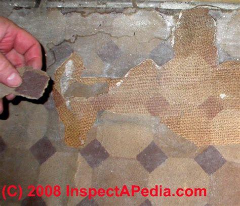 floor tiles    asbestos history