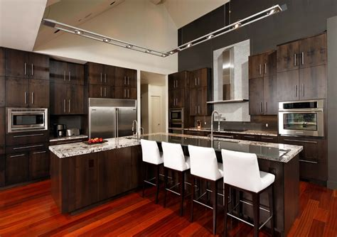 Dc Metro Track Lighting Kitchen Contemporary With White