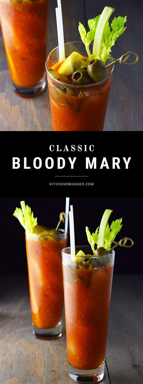 bloody recipe single serving bloody mary recipe