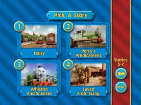 Thomas Halloween Adventures Dvd Menu by Image Percytakestheplungedvdmenu2 Jpg Thomas The Tank