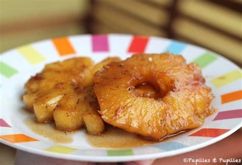 de cuisine qui cuit recette d 39 ananas ananas rôti à la vanille