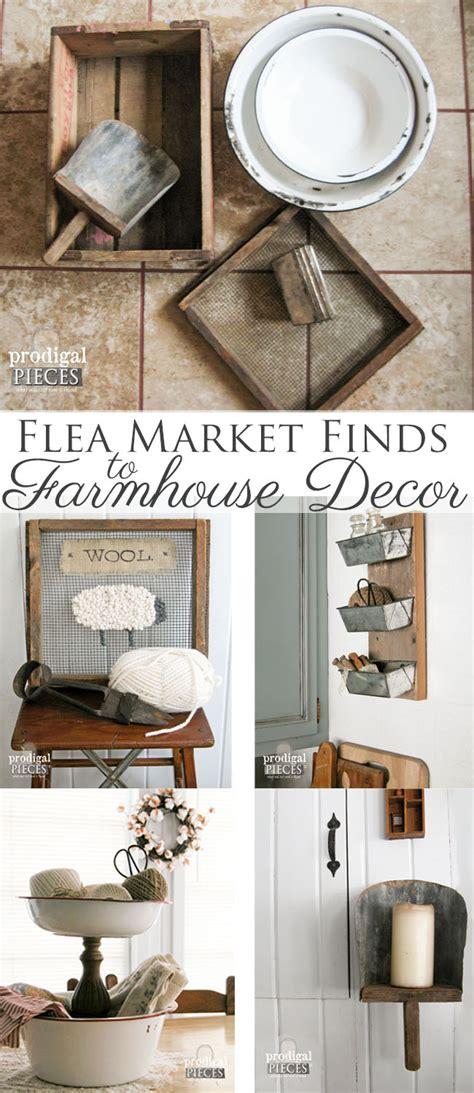 farmhouse decor from repurposed flea market finds prodigal pieces