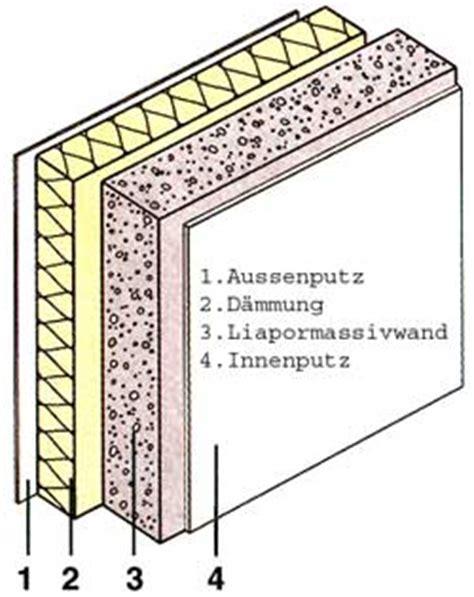 oeko architektenhaus wandaufbau ziegel liapor