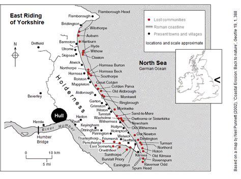 east yorkshire coastal erosion erosion map