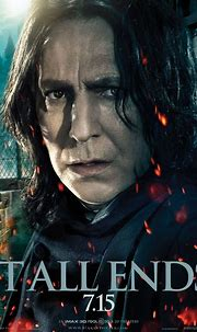 Snape HARRY POTTER AND THE DEATHLY HALLOWS - PART 2 Poster ...