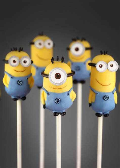 minion cake pops how to make fondant minions for cakes cupcakes step by