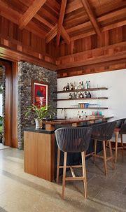 15 Awesome Tropical Home Bar Designs Every Getaway Needs ...