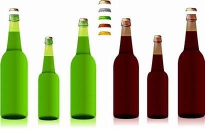 Beer Bottle Clip Vector Bottles Clipart Illustrator