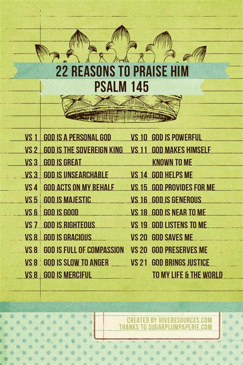 reasons  praise god   dont feel