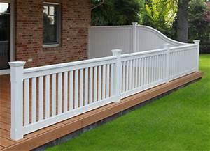 veranda gelander saigonfordinfo With französischer balkon mit garten laser weiss