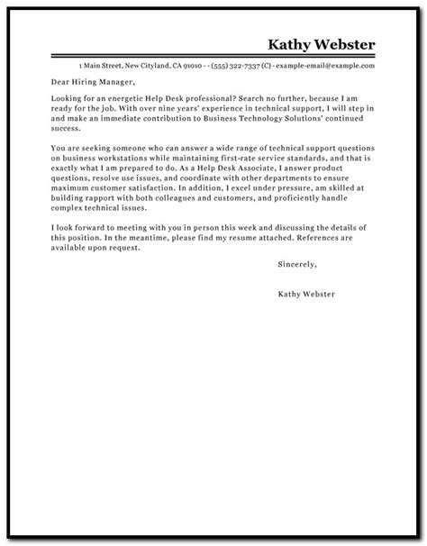 help desk cover letter cover letter template help desk cover letter resume