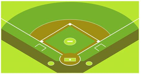 Baseball Field Clip Baseball Field Clip Clipartion