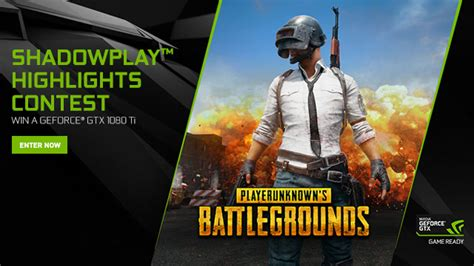 Playerunknown's Battlegrounds Nvidia Highlights Contest