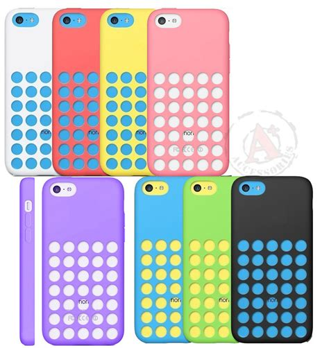 iphone 5c phone cases for apple iphone 5c slim dotted rubber silicone soft gel