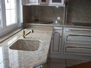 Plan De Travail Granit : marbre et granit de l emblavez votre plan de travail sur ~ Dailycaller-alerts.com Idées de Décoration