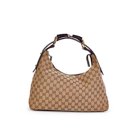 gucci monogram horsebits hobo luxity