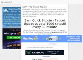 Multiply your bitcoins, free weekly lottery with big prizes, 50% referral commissions and much more! Get Free Bitcoins Every 30 Minutes - Earn-bitcoin Miner V1.0