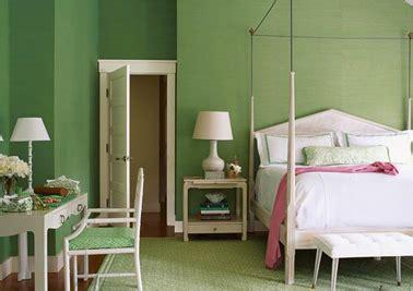 chambre verte et blanche associer couleur chambre et peinture facilement deco cool