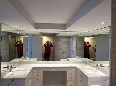 New Blue Bathroom Mirrors Miami