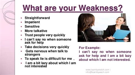 In A What Are Your Weaknesses by Top 10 Questions And Answers