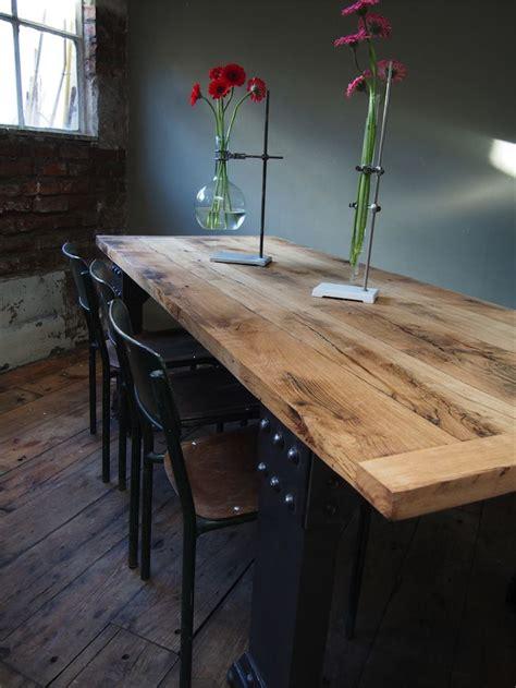 table cuisine industrielle 17 meilleures idées à propos de décoration industrielle
