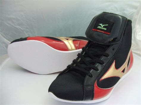 With Mizuno Short Boxing Shoes (our Store