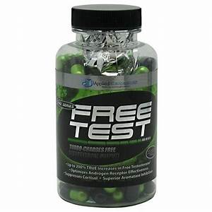 Applied Nutraceuticals Free Test Testosterone Booster Review  U2022 T E S T O S T E R O N E J U N K I E