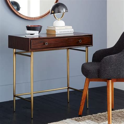 mid century mini desk heston mid century mini desk west elm my apartment