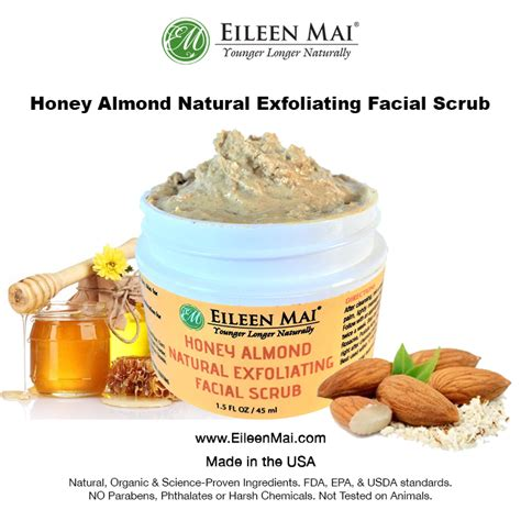 honey and almond scrub my